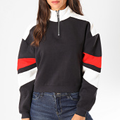 /achat-sweats-col-zippe/only-sweat-crop-femme-col-zippe-dakota-bleu-marine-199614.html