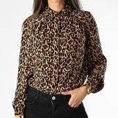 /achat-chemises-manches-longues/only-chemise-manches-longues-femme-leopard-demi-marron-clair-noir-199616.html
