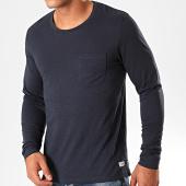 /achat-t-shirts-manches-longues/produkt-tee-shirt-manches-longues-poche-gms-slub-bleu-marine-199642.html