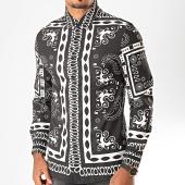 /achat-chemises-manches-longues/uniplay-chemise-manches-longues-c012-noir-blanc-199635.html