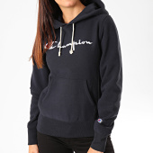 /achat-sweats-capuche/champion-sweat-capuche-femme-big-script-111555-bleu-marine-199708.html