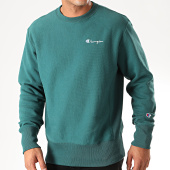 /achat-sweats-col-rond-crewneck/champion-sweat-crewneck-213603-vert-sapin-199715.html