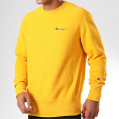 /achat-sweats-col-rond-crewneck/champion-sweat-crewneck-213603-jaune-199716.html