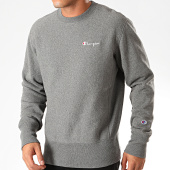 /achat-sweats-col-rond-crewneck/champion-sweat-crewneck-213603-gris-anthracite-chine-199725.html