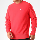 /achat-sweats-col-rond-crewneck/champion-sweat-crewneck-213603-rouge-199737.html