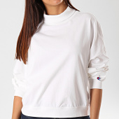 /achat-sweats-col-rond-crewneck/champion-sweat-col-roule-femme-112199-blanc-199746.html