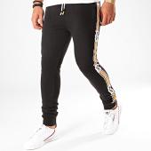 /achat-pantalons-joggings/deeluxe-pantaon-jogging-a-bandes-vaast-noir-blanc-orange-199695.html