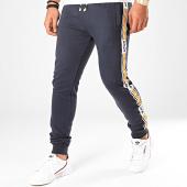 /achat-pantalons-joggings/deeluxe-pantaon-jogging-a-bandes-vaast-bleu-marine-blanc-orange-199696.html