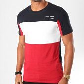 /achat-t-shirts/jack-and-jones-tee-shirt-block-bleu-marine-rouge-blanc-199665.html