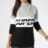 /achat-sweats-col-rond-crewneck/superdry-sweat-femme-sport-pusher-crew-gs3119tu-noir-gris-chine-blanc-199674.html