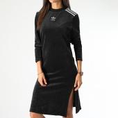 /achat-robes/adidas-robe-pull-velours-sweater-ej9058-noir-blanc-199910.html