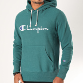 /achat-sweats-capuche/champion-sweat-capuche-212574-vert-sapin-199851.html