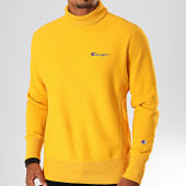 /achat-sweats-col-rond-crewneck/champion-sweat-col-roule-231605-jaune-199858.html