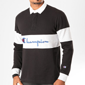 /achat-polos-manches-longues/champion-polo-manches-longues-213662-noir-gris-chine-blanc-199860.html
