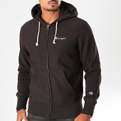 /achat-sweats-zippes-capuche/champion-sweat-zippe-capuche-213604-noir-199881.html