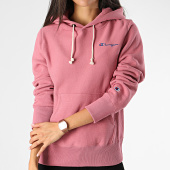 /achat-sweats-capuche/champion-sweat-capuche-femme-111556-rose-fonce-199885.html