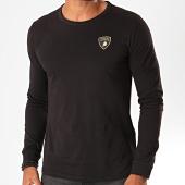 /achat-t-shirts-manches-longues/lamborghini-tee-shirt-manches-longues-jersey-picasso-b3xub7sp-30260-noir-199841.html
