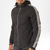 /achat-vestes/berry-denim-veste-zippee-capuche-a-bandes-az-005-noir-reflechissant-200002.html