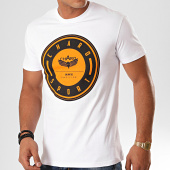 /achat-t-shirts/charo-tee-shirt-medalion-wy4770-blanc-orange-noir-199993.html