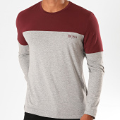 /achat-t-shirts-manches-longues/hugo-boss-tee-shirt-manches-longues-balance-50420156-gris-chine-bordeaux-199977.html