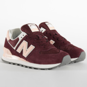 /achat-baskets-basses/new-balance-baskets-femme-classics-574-bordeaux-rose-199925.html