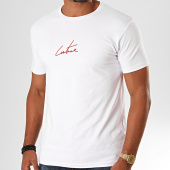 /achat-t-shirts/the-couture-club-tee-shirt-essentials-tccm2418-blanc-rouge-199931.html