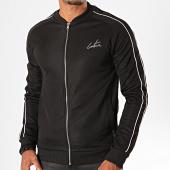 /achat-vestes/the-couture-club-veste-zippee-a-bandes-piped-detail-colman-track-tccm183-noir-blanc-199934.html
