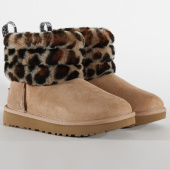 /achat-bottes-boots/ugg-bottines-femme-fluff-mini-quilted-leopard-1105358-amphora-199928.html