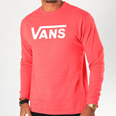 /achat-t-shirts-manches-longues/vans-tee-shirt-manches-longues-classic-k6hzra-rose-199966.html
