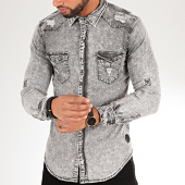 /achat-chemises-manches-longues/project-x-chemise-manches-longues-jean-9989-gris-200012.html
