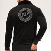 /achat-vestes/project-x-veste-zippee-velours-col-mouton-1930042-noir-200049.html