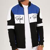/achat-vestes/project-x-sweat-zippe-1930034-noir-blanc-bleu-200066.html