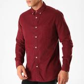 /achat-chemises-manches-longues/celio-chemise-manches-longues-pa-velours-bordeaux-200112.html