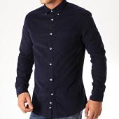 /achat-chemises-manches-longues/celio-chemise-manches-longues-pa-velours-bleu-nuit-200113.html