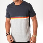/achat-t-shirts/celio-tee-shirt-peciel-bleu-marine-gris-chine-200117.html
