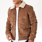 /achat-vestes/celio-veste-zippee-velours-col-fourrure-punaja-marron-beige-200197.html