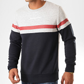 /achat-sweats-col-rond-crewneck/jack-and-jones-sweat-crewneck-caine-bleu-marine-gris-chine-200237.html