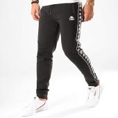 /achat-pantalons-joggings/kappa-pantalon-jogging-a-bandes-alanz-304kpn0-noir-blanc-200181.html