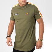 /achat-t-shirts-longs-oversize/ellesse-tee-shirt-oversize-a-bandes-iseo-vert-kaki-200285.html