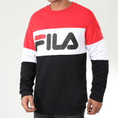 /achat-sweats-col-rond-crewneck/fila-sweat-crewneck-tricolore-straight-blocked-681255-noir-rouge-blanc-200332.html