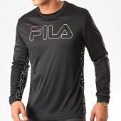 /achat-t-shirts-manches-longues/fila-tee-shirt-manches-longues-atos-682823-noir-blanc-200348.html