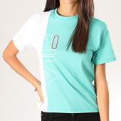 /achat-t-shirts/fila-tee-shirt-femme-kendra-682845-vert-clair-blanc-200360.html
