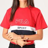 /achat-t-shirts/fila-tee-shirt-femme-tricolore-fabya-682852-rouge-bleu-marine-blanc-200373.html