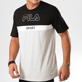 /achat-t-shirts/fila-tee-shirt-manning-block-682859-gris-chine-noir-200382.html