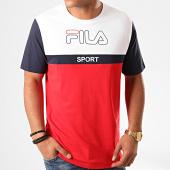 /achat-t-shirts/fila-tee-shirt-manning-block-682859-rouge-blanc-200383.html