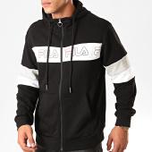 /achat-sweats-zippes-capuche/fila-sweat-zippe-capuche-paltow-682861-noir-blanc-gris-chine-200391.html