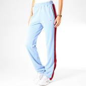 /achat-pantalons-joggings/fila-pantalon-jogging-femme-a-bandes-nery-687093-bleu-clair-200446.html