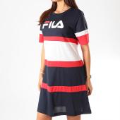 /achat-robes/fila-robe-femme-tricolore-terhikka-687211-bleu-marine-blanc-rouge-200451.html