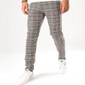 /achat-pantalons-carreaux/mackten-pantalon-carreaux-28047-beige-noir-marron-200298.html