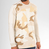 /achat-t-shirts-manches-longues/adidas-tee-shirt-manches-longues-camouflage-a-bandes-ed6967-beige-200587.html
